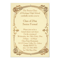 Prom invitations announcements zazzle au prom class senior formal graduation invitations announcements stopboris Image collections
