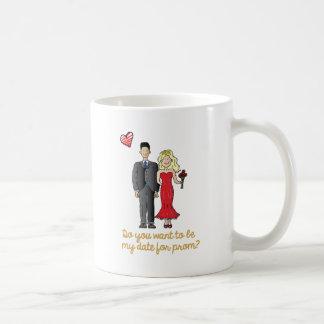 prom date coffee mug