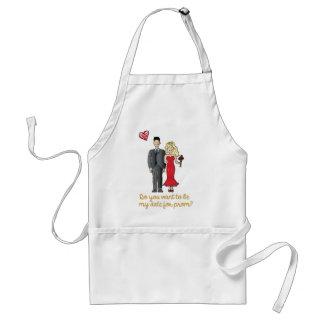 prom date standard apron
