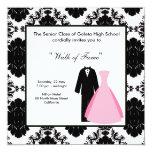 Prom Night 13 Cm X 13 Cm Square Invitation Card