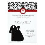 Prom Night 13 Cm X 18 Cm Invitation Card