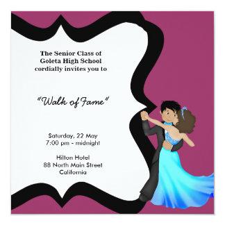 Prom Night Dance 13 Cm X 13 Cm Square Invitation Card