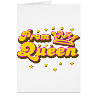 Prom Queen Cards