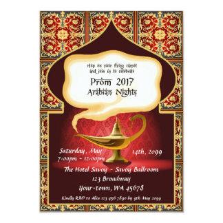 Prom Senior-Junior, Arabian, red & gold_Julieth K Card