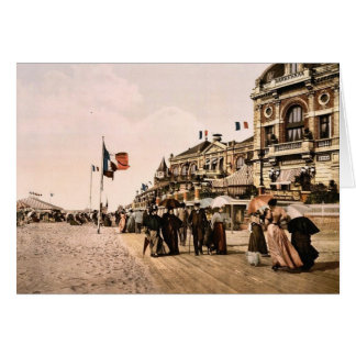 Promenade and grand Salon, Trouville, France class Card