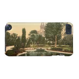 Promenade and St Genieve Church Mulhouse France iPod Touch 5G Cover
