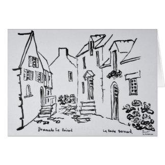 Promenade du Ruicard | La Roche-Bernard, Brittany Card