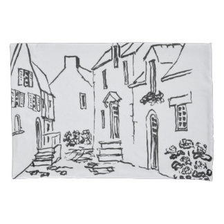 Promenade du Ruicard | La Roche-Bernard, Brittany Pillowcase