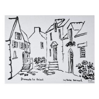 Promenade du Ruicard | La Roche-Bernard, Brittany Postcard