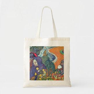 Promenade in Arles by Vincent van Gogh Tote Bags