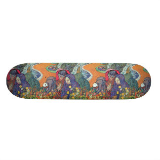 Promenade In Arles Skate Board Deck