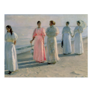 Promenade on the Beach Postcard