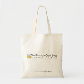 Promo Tote - The Printable Craft Shop Budget Tote Bag