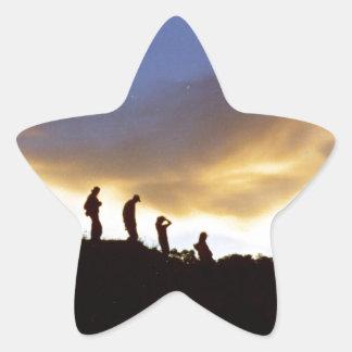 Promote rural tourism star sticker