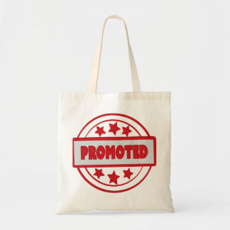Promoted Red Stamp Budget Tote Budget Tote Bag