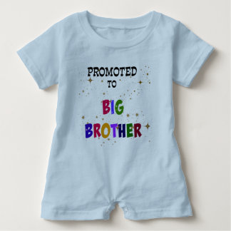 Promoted to Big Brother Baby Bodysuit
