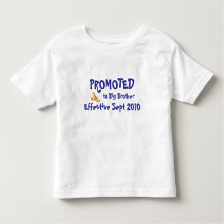PROMOTED to Big Brother, Effective ... Toddler T-Shirt
