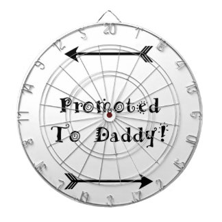 Promoted to Daddy - Foster Adopt - New Dad Dartboard