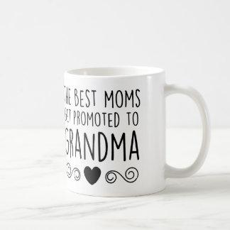 Promoted to Grandma Basic White Mug