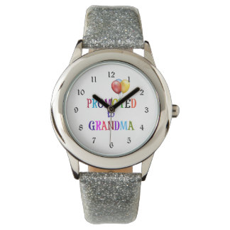Promoted to Grandma, Colorful Design Watch