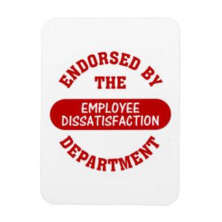 Promoting employee dissatisfaction & boring jobs vinyl magnets