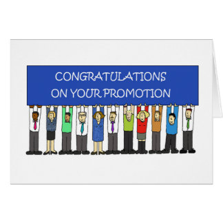 Promotion Congratulations Card