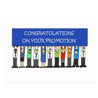 Promotion Congratulations Postcard
