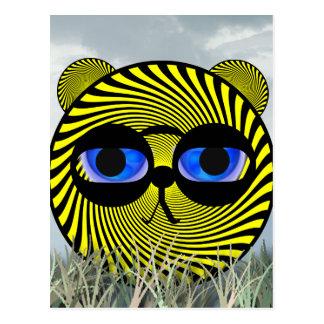 Promotion Tiger Postcard