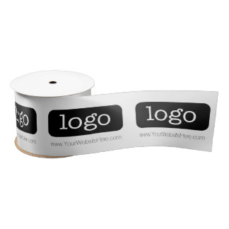Promotional Business Supplies with Logo Satin Ribbon