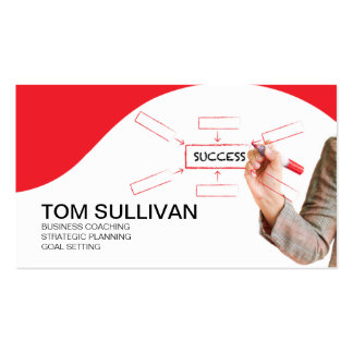 PROMOTIONAL for Business Coach Strategic Planning Business Cards
