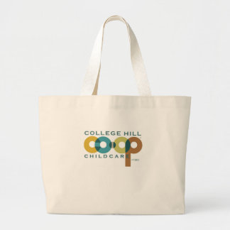 Promotional items for College Hill Cooperative Large Tote Bag