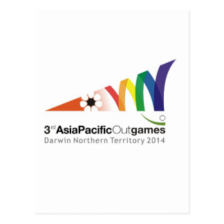Promotional Material 3rd Asia Pacific Outgames Postcard