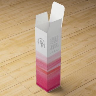 Promotional vineyard business red wine box