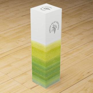 Promotional vineyard business wine box