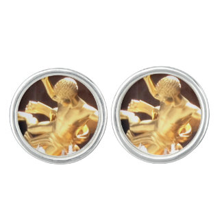 Promytheus, Guides Rockefeller Center in Glory Cuff Links