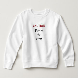 PRONE TO FITS toddler top
