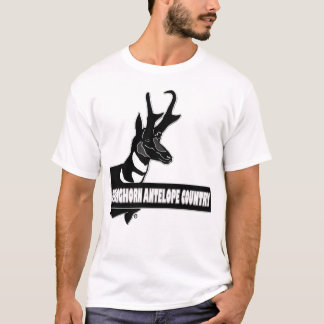 Pronghorn Antelope Animal Country Designer Clothes T-Shirt