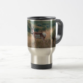 Pronghorn Antelope Travel Mug