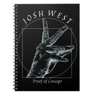 Proof of Concept White Logo Notebook