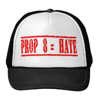 Prop 8 equals Hate Trucker Hat