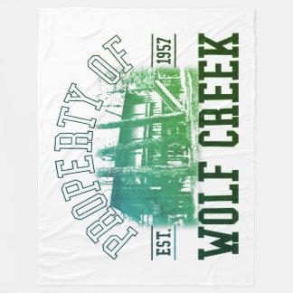 Prop of Wolf Creek - Large Fleece Blanket