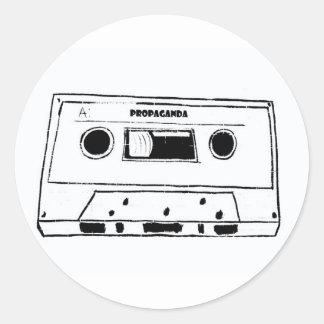 prop tape classic round sticker
