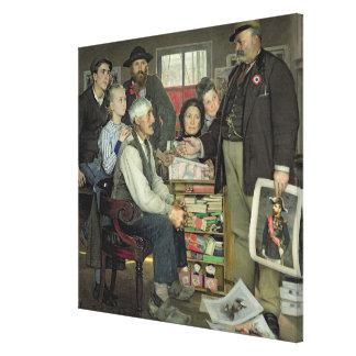 Propaganda, 1889 canvas print