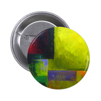 Proper Light Source (abstract light expressionism) 6 Cm Round Badge