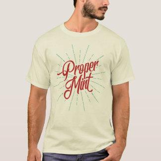 Proper Mint Bristol Bristolian Slang Tee Shirt