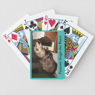 Proper Possum Playing Cards