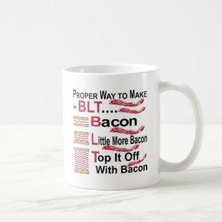 Proper Way To Make A BLT Bacon Lettuce Sammich Coffee Mug