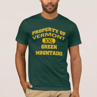 Propert of Vermont XXL Green Mountains T-Shirt