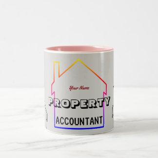 """Property Accountant"" Two-Tone Coffee Mug"