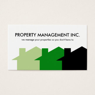 Property Management Business Cards
